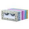 Rectangle glitter paper box
