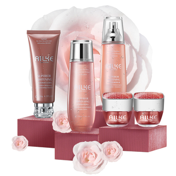 Ailke Brand Personal Daily 5 in 1 Set Whitening Skin Care Products for Women
