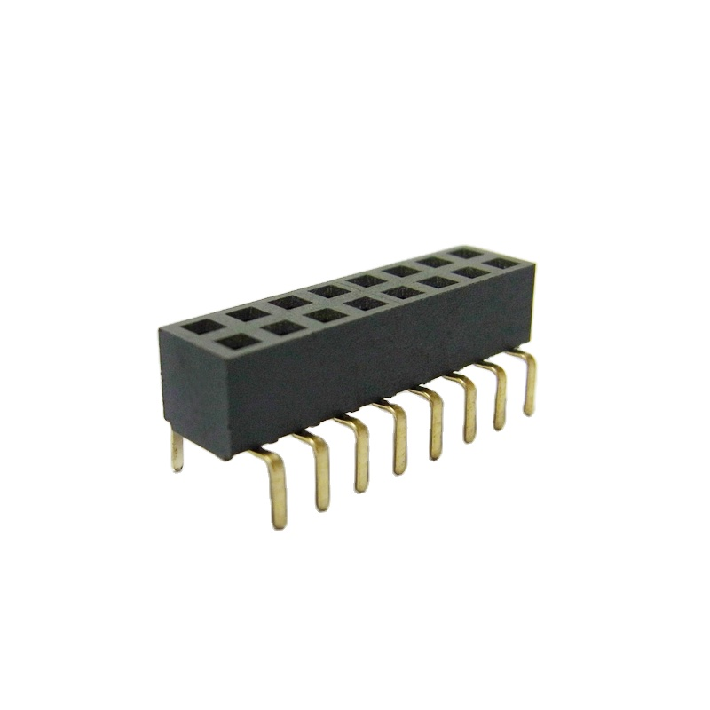 Pitch 2.54Mm 2-80Pin H3.5 H3.5 Dual Row Wide Foot Female Header
