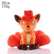 Pikachu Eevee плюшевые игрушки чармандер белки милые японские аниме животные мягкие игрушки кукла для детей день рождения Stuffe игрушки подарок(Китай)