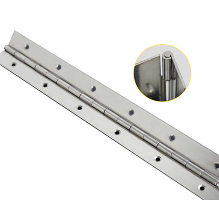 Stainless Steel Continuous Small Long Piano Hinge 180 Degree Piano Hinge Furniture Hinge