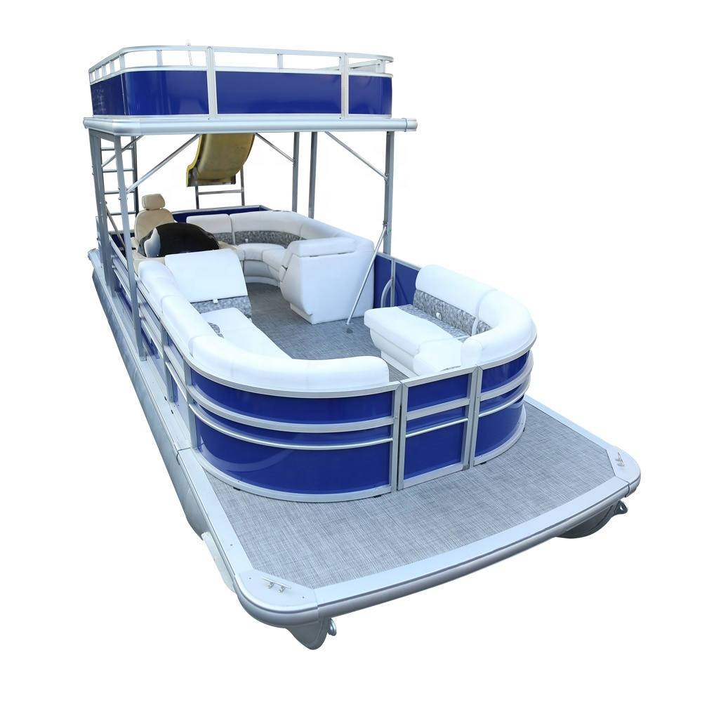 KinOcean 26ft aluminium water taxi boat for sale