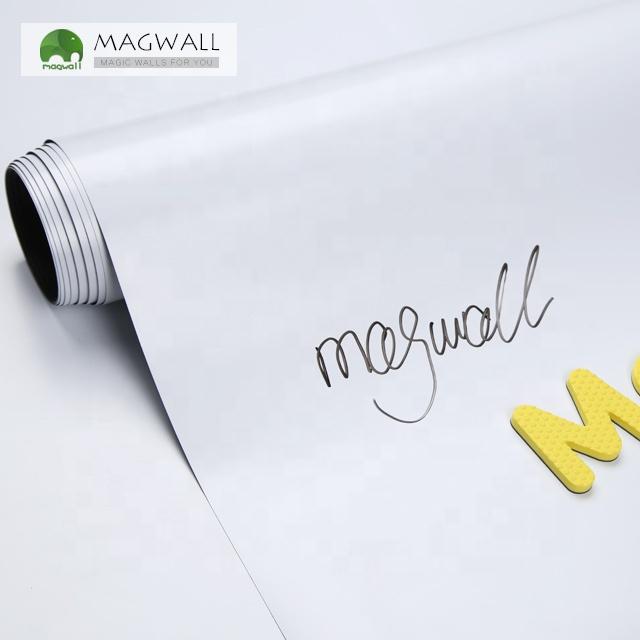 Magwall adherence soft PET film single-layer whiteboard wallpaper dry erase white board magnetic drawing board sticker - Yola WhiteBoard | szyola.net