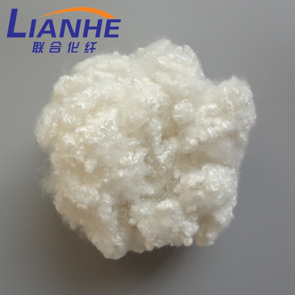 3D 7D 15D Virgin Hollow Conjugated Siliconized Polyester Staple Fiber