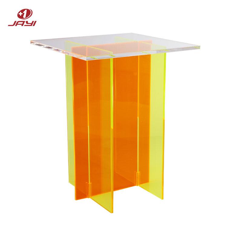 Высококачественный акриловый стол на заказ, акриловая мебель, стол из оргстекла