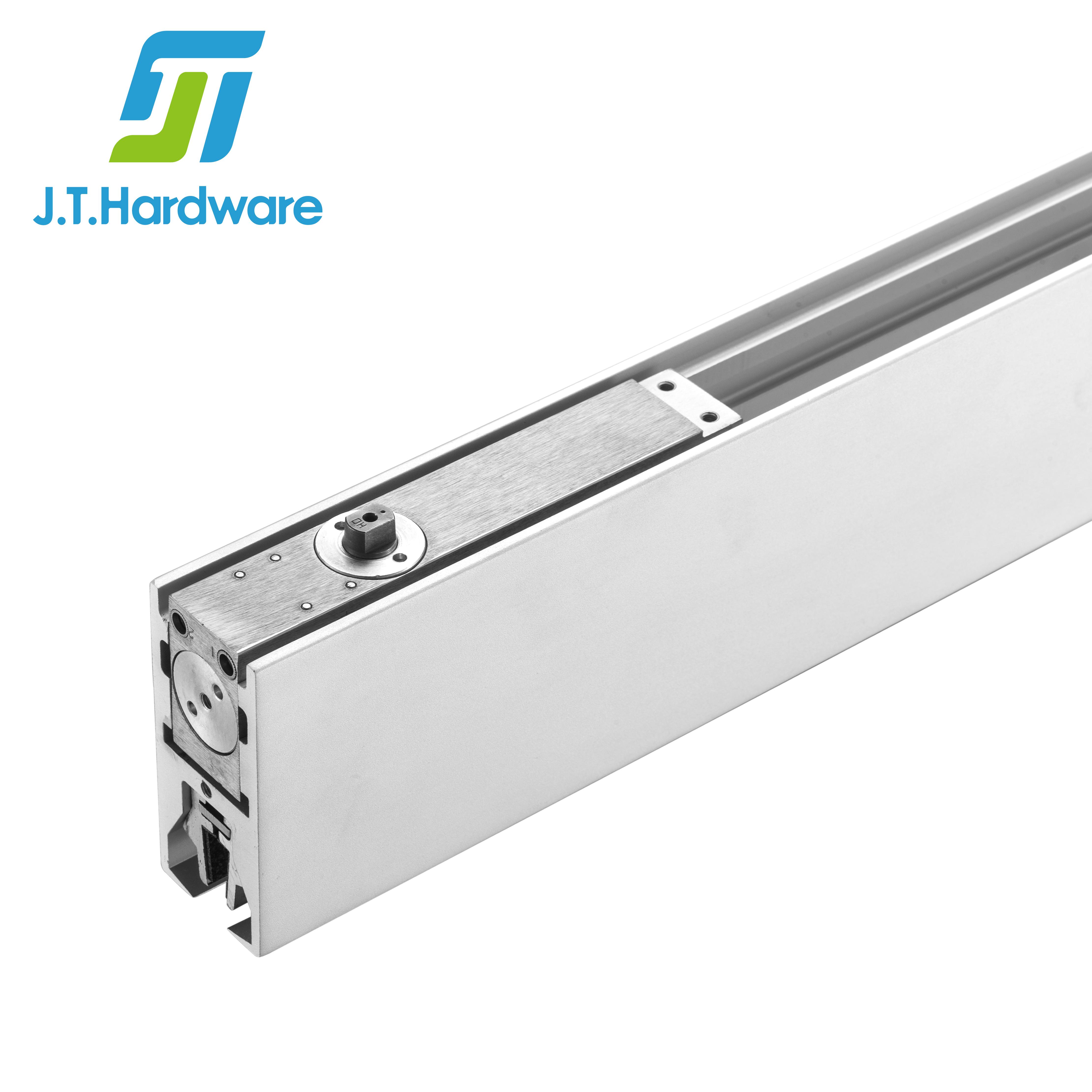 Алюминиевая боковая панель полная нижней части длинные патч фитинги со стеклянной дверью рельсы