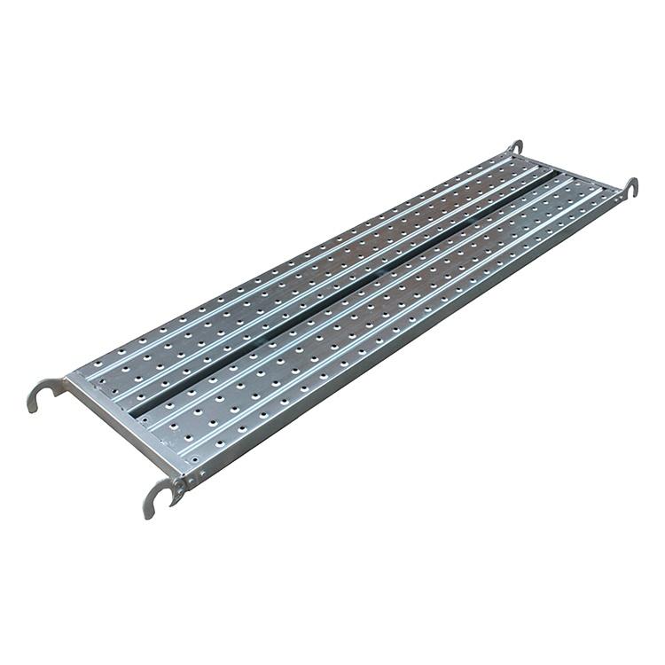 Прямая продажа с завода, горячеоцинкованные строительные леса, стальные панели, подиум с крючками, сетчатая доска для строительных лесов