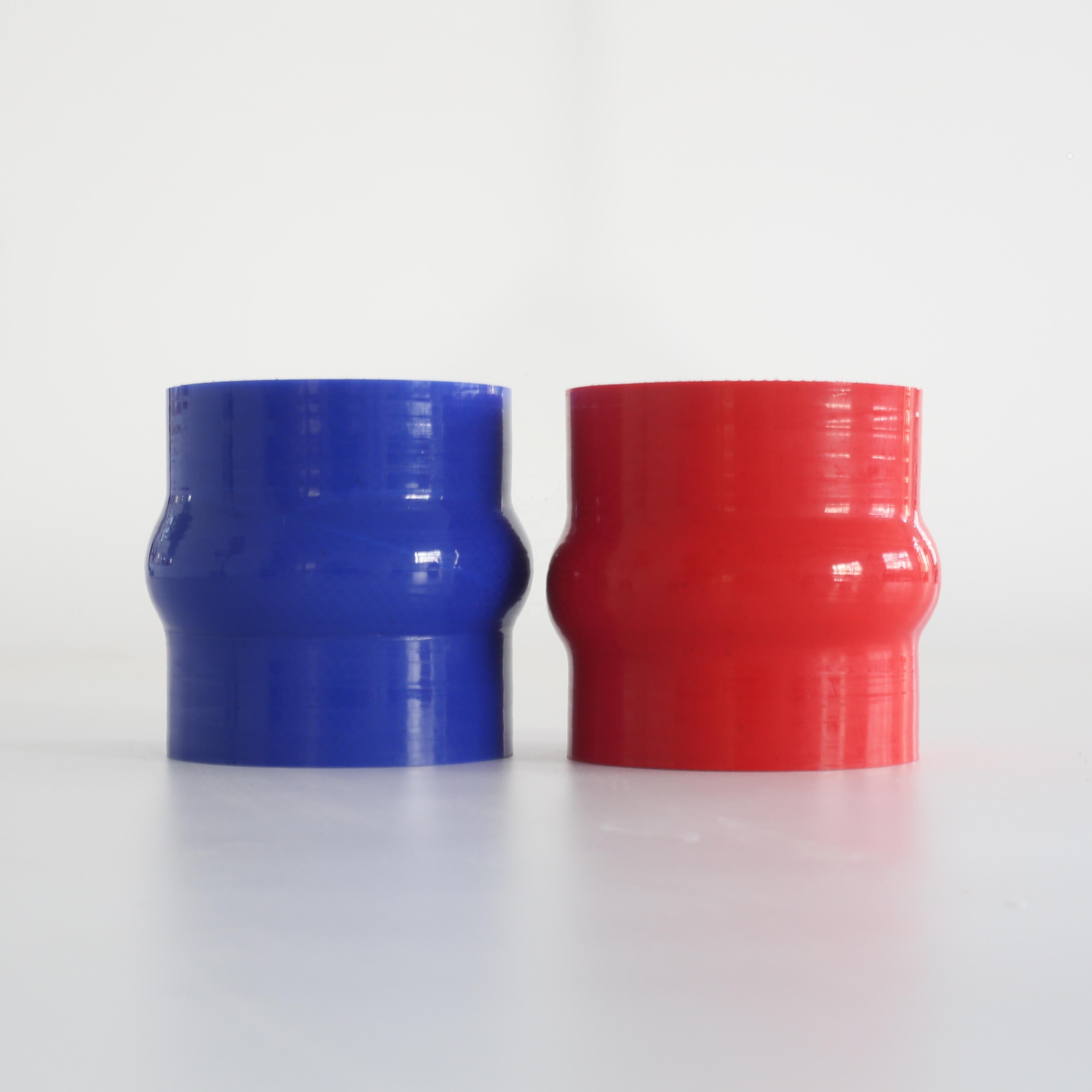 custom hump tube manufacturer automotive silicone hose reinforcement automotive 76 mm intercooler