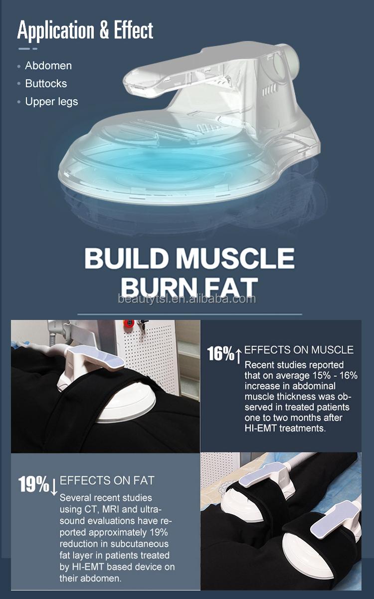 EMT8-pro max hi emt pro max 4 handle no workout no diet building muscle burning fat emslim hiemt sculpt electromagnetic muscle