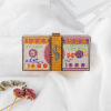 Multi-kleur portemonnee