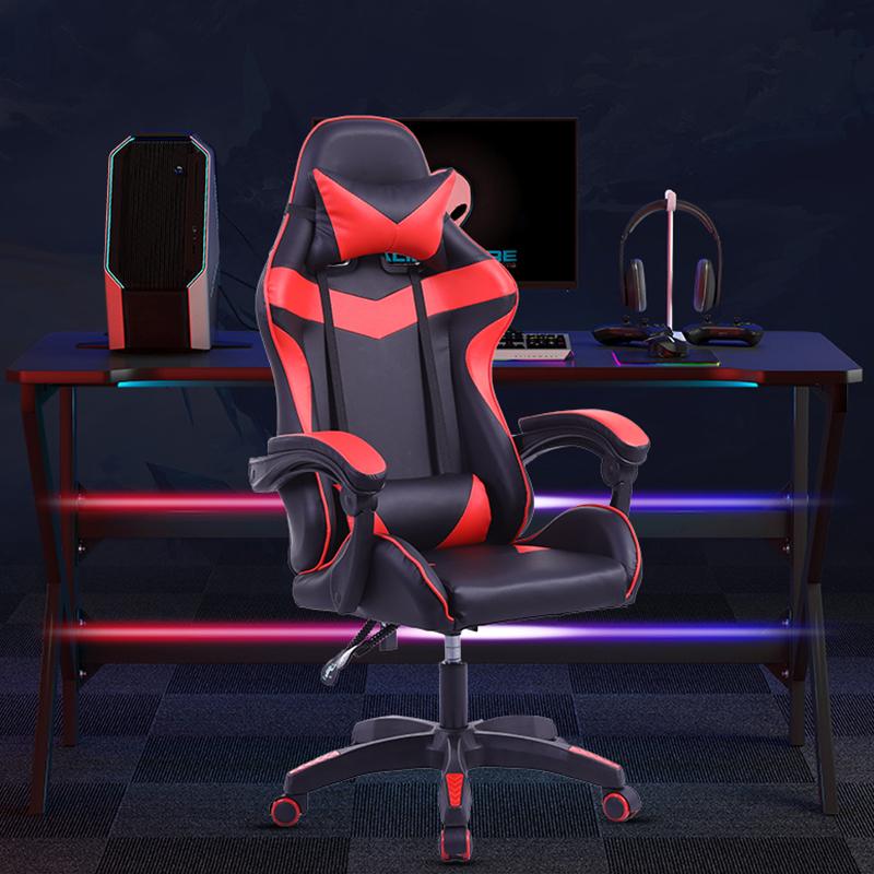 Высококачественный эргономичный силловый игровой роскошный поворотный дешевый стул из искусственной кожи для гоночного дома, компьютера, офиса, игрового кресла