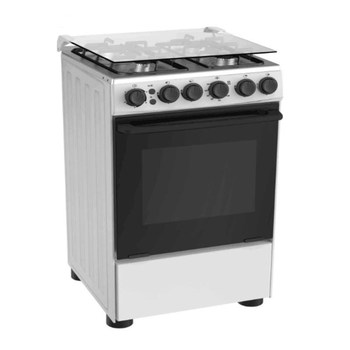 Smeta 2500W Freestanding Pizza LPG Gas Oven With 4 Gas Open Burner