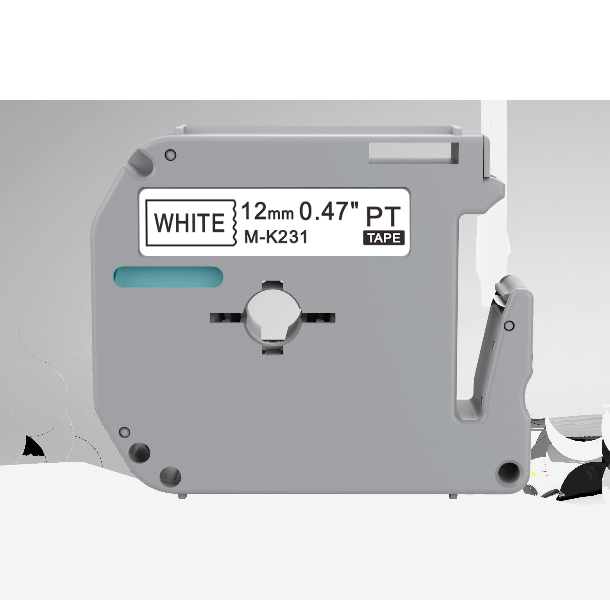 M лента mk231 клейкая этикетка лента пустые кассеты