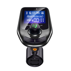 LUTU D4 Dual USB car charger Hands-free MP3 Player Wireless FM transmitter for car