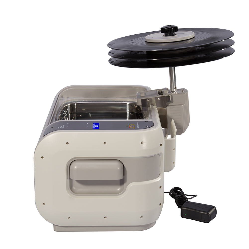 CD-4862 безопасная Очистка для записи 6 л ультразвуковой очиститель виниловых пластин