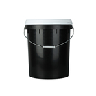 Bucket Bucket Special Price Lightweight 20L China Black Large Food Plastic Bucket