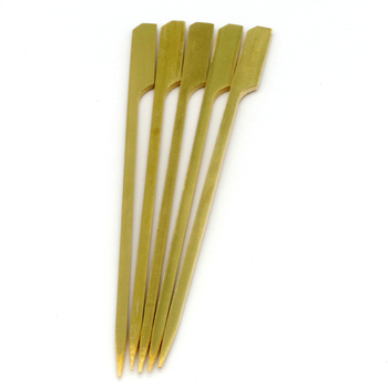 Wholesale Disposable Paddle Sticks Seekh Kebab Skewers for Sale