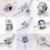 925 sterling silver cubic zircon charm beads charm amulet suitable for fashion charm bracelet gift women