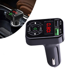 Handsfree Car Kit Auto Radio Mp3 Player Music Adapter Dual USB charger Blue tooth receiver FM transmitter Car with bluetooth