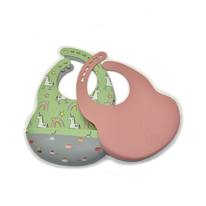 Силиконовый нагрудник водонепроницаемый детский и нагрудник от производителя оптовая продажа силиконовый нагрудник милый мягкий Пользовательский логотип стиль