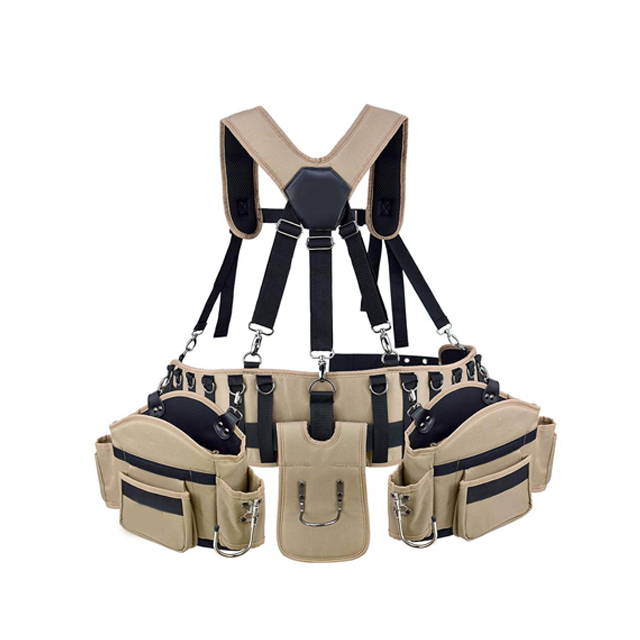 Multifunction Canvas Carpentry Cleaning Tool Holder High Quality Waist Belt Bag
