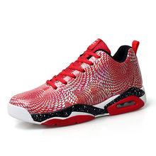 Баскетбольная обувь для отдыха на открытом воздухе с высоким берцем, Баскетбольная обувь для диких молодых людей, повседневная обувь с изоб...(Китай)
