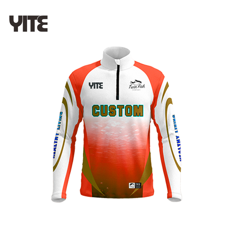 High quality cheap price fishing jersey prefessionally custom wholesale fishing breathable shirt