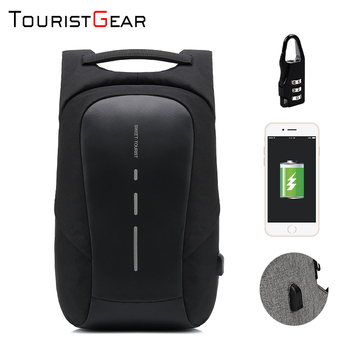 mochila antirrobo manufacturer offer good price laptop backpack bag anti theft waterproof USB business backpack