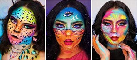 Popular Body Painting Oil Based Face Paint Kit for Festival Party Makeup