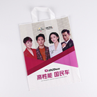 Bag With Handle Packing Bag 2021 Manufacturer Clothing Packaging Plastic Shopping Bag Custom Logo With Handle