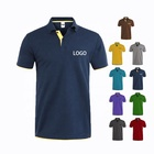 Shirt Print High Quality Camisas Polyester Polo Blank Embroidered 100 Cotton Mens Golf Polo Shirt With Custom Logo