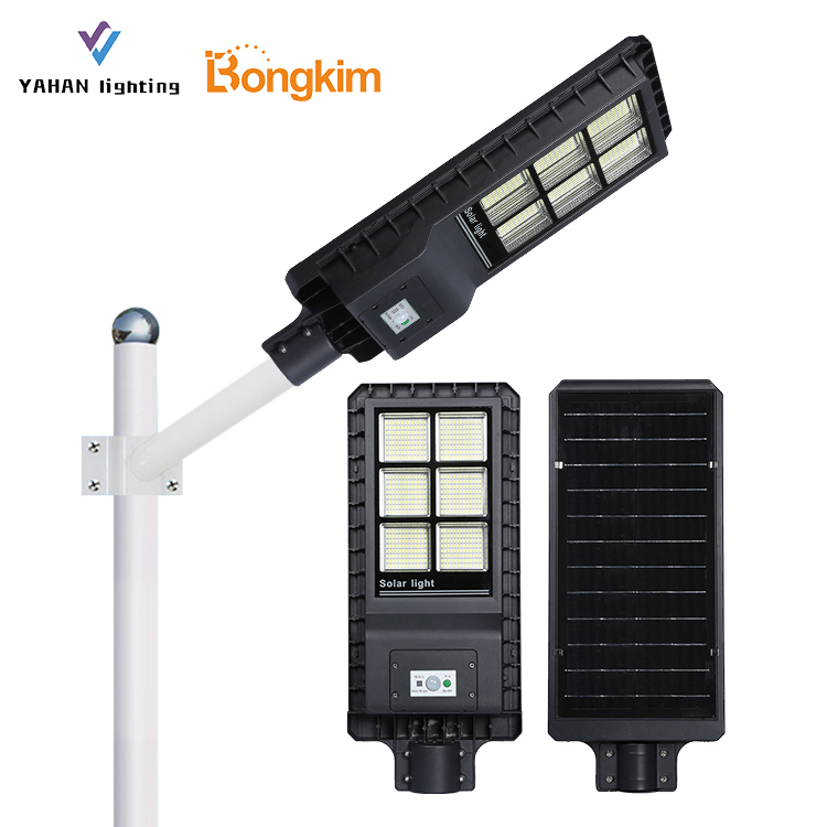 Online Shopping Outdoor Waterproof IP65 60w 120w 180w Integrated All In One Solar LED Street Light