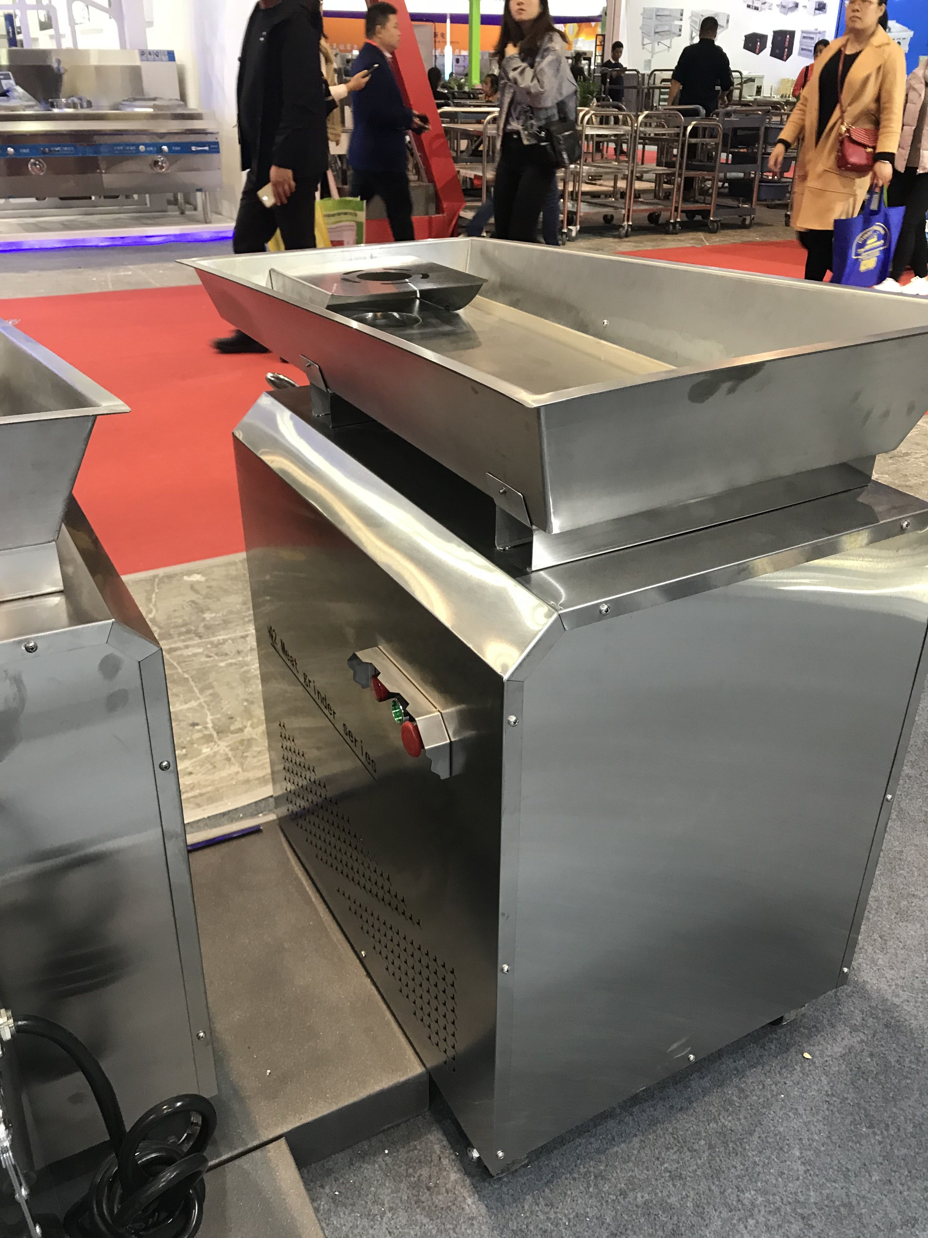 Stainless Steel Industrial Meat Mincer VS-42 with CE for Meat Processing Plant
