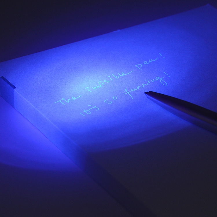 Invisible Ink With UV LED Light Pen Magic Marker for Drawing Fun Activity Kids Party Ballpoint Pen