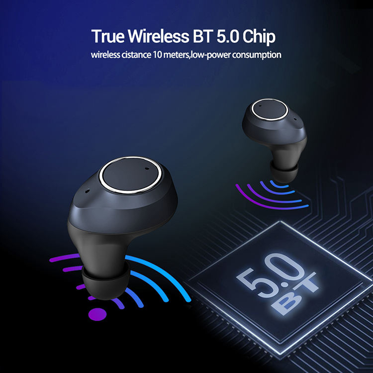 Newest TWS Game Earphones Headphones Headsets Earbuds Wireless Touch Control Waterproof Headset