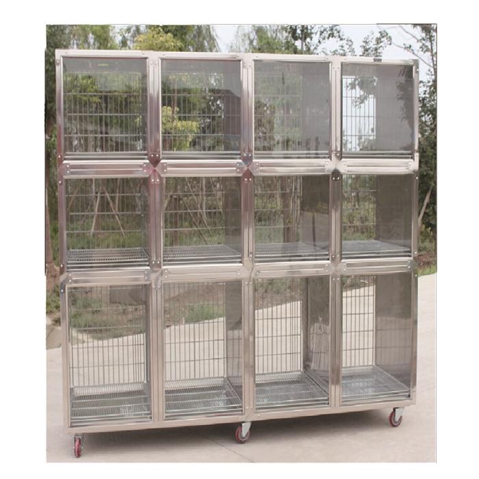Китайский поставщик, клетки для животных, ветеринарная клетка для собак и кошек из нержавеющей стали
