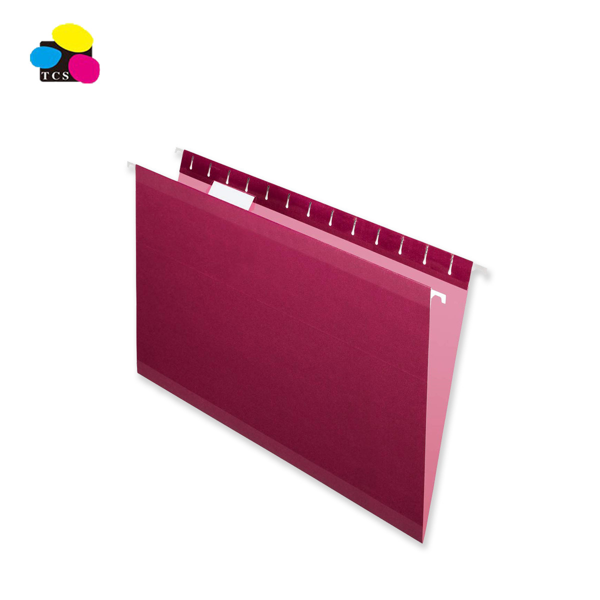 Chinese Supplier 3 Poly Reinforced Taps 180/230gsm White/Kraft Paper A4/FC Size Assorted Bright Color Suspension File Folders