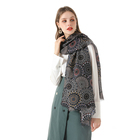 Design Scarf New Design Classic Pattern Spring Polyester Scarf For Women Stylish
