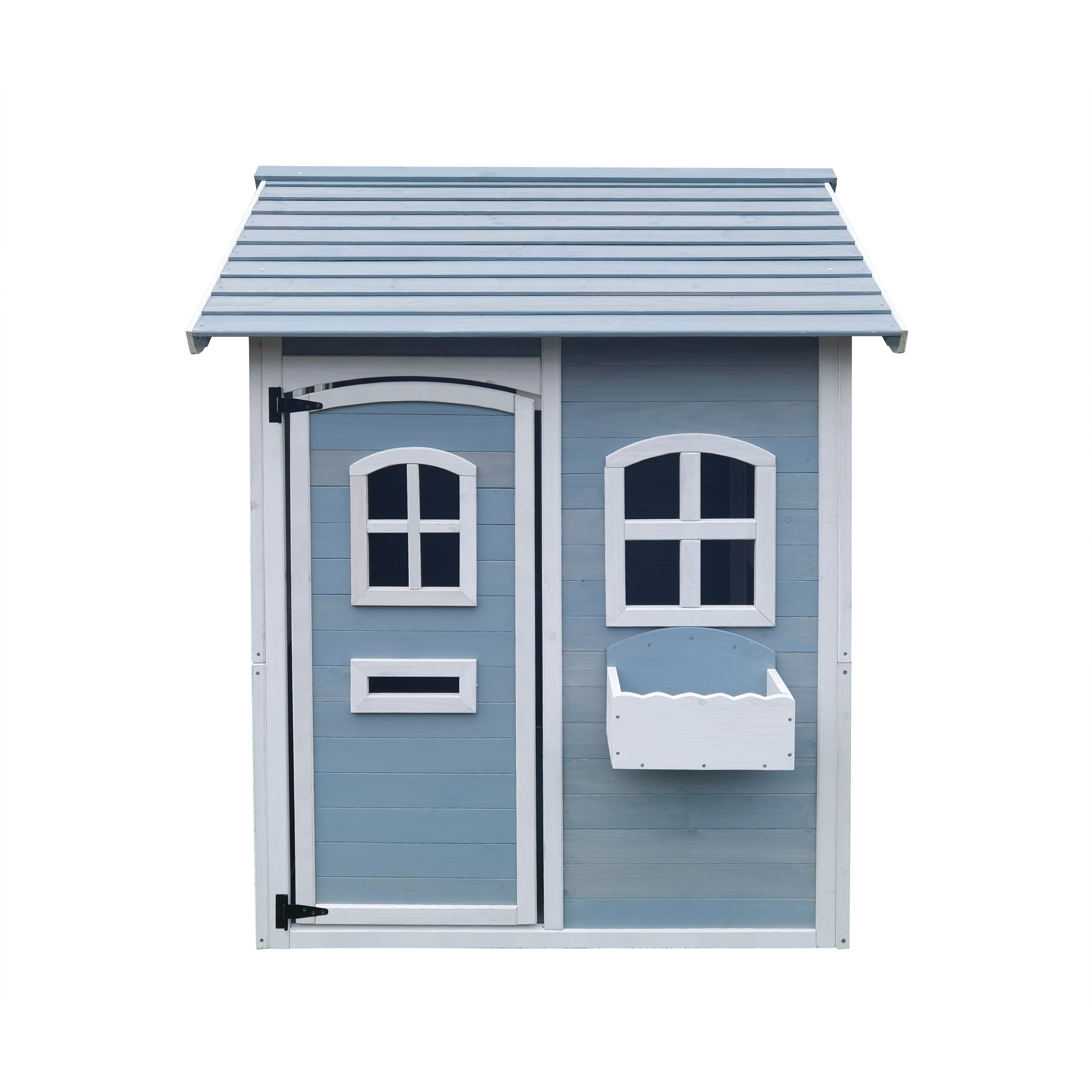 Wholesale factory direct wooden cubbyhouse backyard kids wooden house outdoor