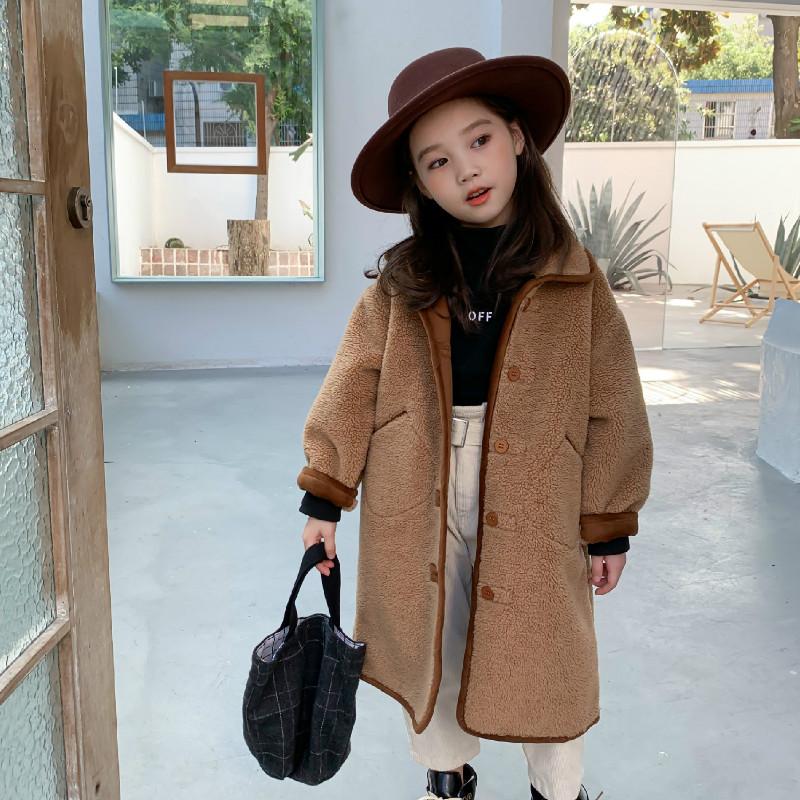 2020 Herbst Neue Ankunft Mädchen Mode Kaschmir Jacken Mädchen Jacke Kinder Mäntel Für Mädchen Jackets Coats Aliexpress
