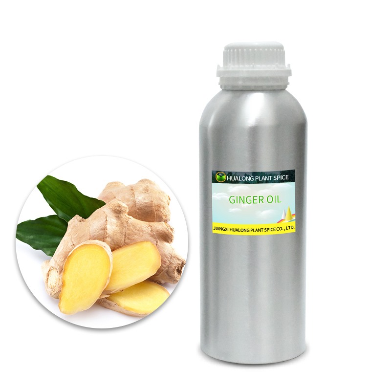 Natural extract 100% organic essential oil aroma pure ginger oil