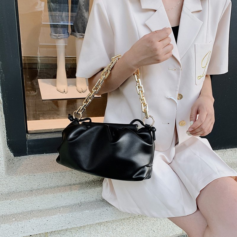 2021 High Quality Latest Ladies Chain Purses Design Underarm Handbags Women Luxury Hand Bags For Females