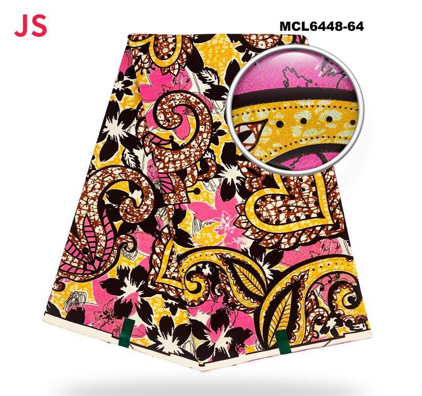 Mikemaycall 100% cotton Ankara prints fabrics African fabrics wax super golden grand wax