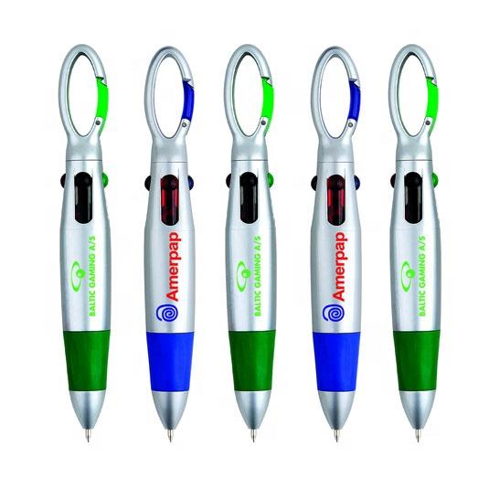 Лидер продаж, шариковая ручка 4 в 1 с мягким захватом и логотипом на заказ