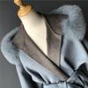 Blue-fur cuff