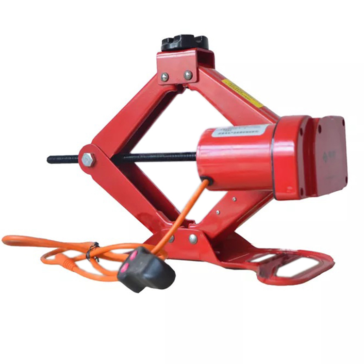 Portable Professional Rechargeable Wire Control 2Ton 12 Volt Electric Car Scissor Jack