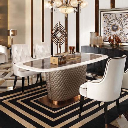 Luxury Us Uk Modern Olive Rectangular Dining Table Set Luxury Factory Selling Stone Metal Marble Dining Table Buy 6 Seater Glass Dining Table Italian Marble Dining Table Rectangular Marble Top Dining Table Product