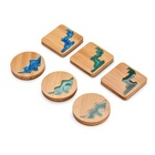 newest design bamboo resin craftwork cup mat,eco-friendly 100% natural wood bamboo coaster cup mat
