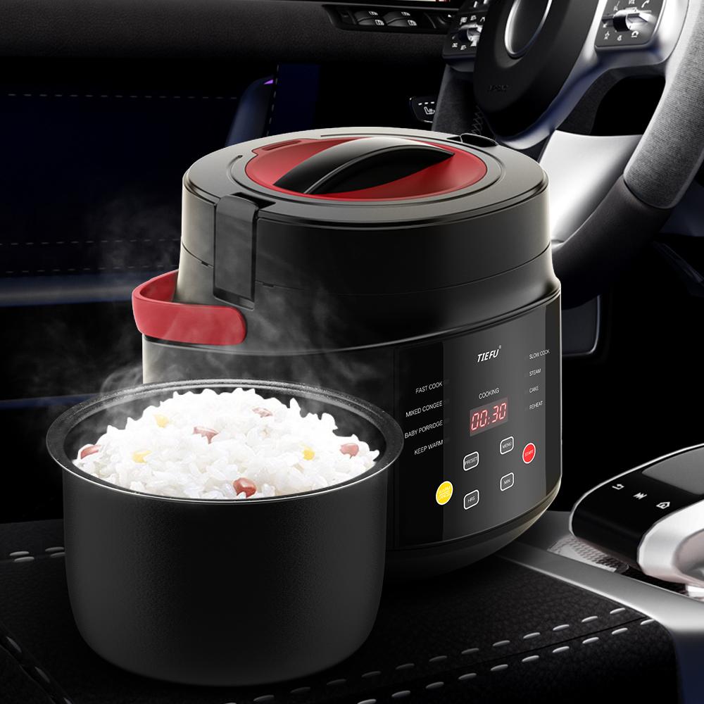 Универсальная рисоварка для автомобиля, 12 В, 24 В, 2 л