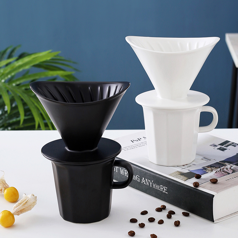 Filtre à café en céramique, goutteur directe d'usine, en acier inoxydable